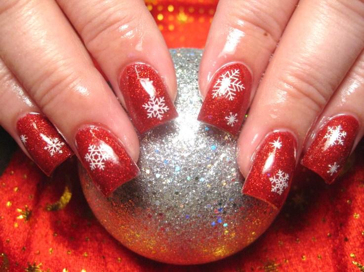 Nail Art Designs Christmas Designs
