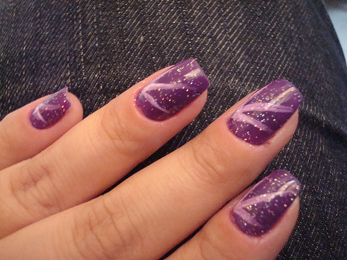The Cool Simple glamour nail art designs Photograph