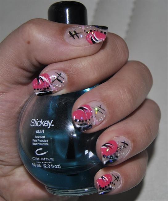 Hand Painted Nail Art Simple: Hand Painted Nail Art Designs